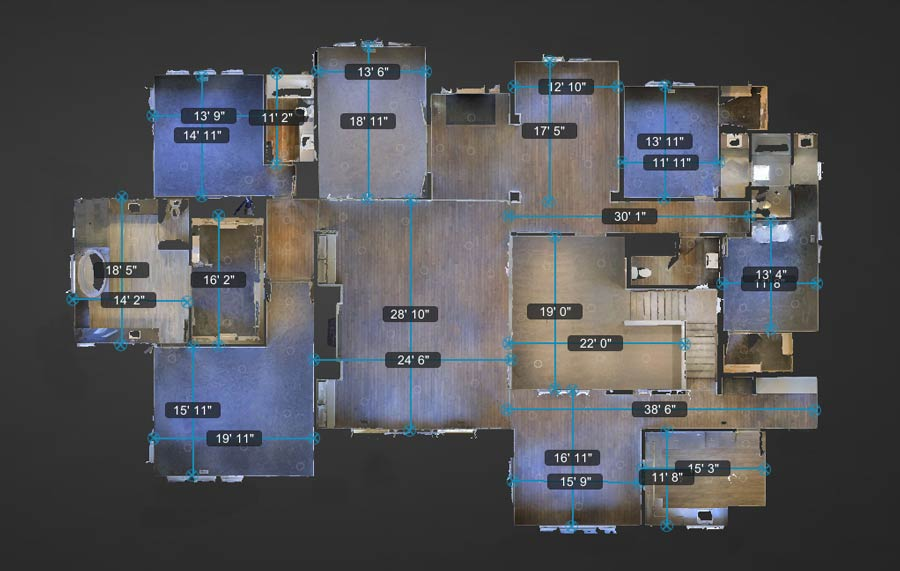 Virtual Tour Floor Plan Rendering Space